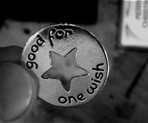 black and white, make a wish, and one wish token image