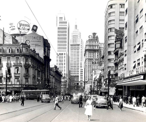 50's, black and white, and brasil image