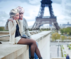 paris, jelsa, and elsa image