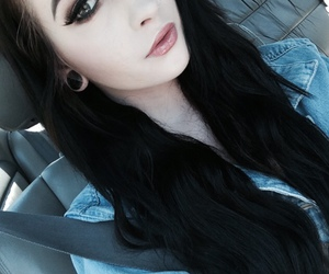 black, style, and girl image