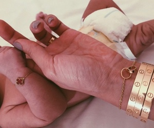baby, cartier, and bracelet image