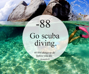 Best, girl, and scuba diving image