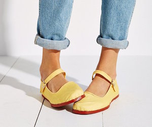 denim, jeans, and mary janes image