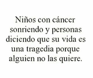 cancer, cierto, and frases image
