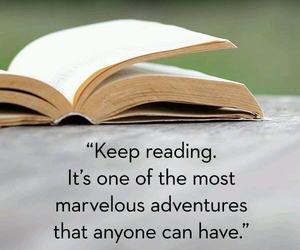 book, quotes, and reading image