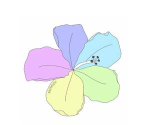flower, pastelistic, and lovely image