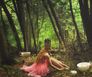 forest, princess, and pink image