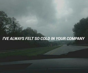quote, cold, and grunge image