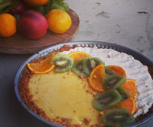 breakfast, cake, and pie image