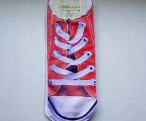 converse, socks, and deliberate randomness image