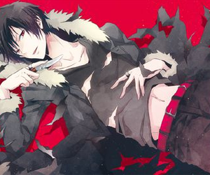 durarara, anime, and izaya image
