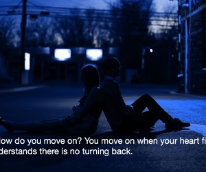 move on and heart image