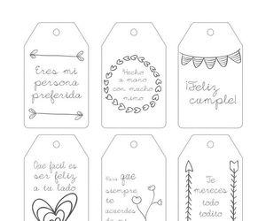 diy, tarjetas, and cumpleaños image