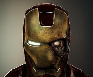 zombie, iron man, and Marvel image