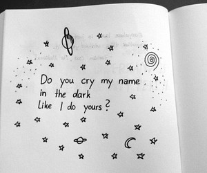love, cry, and dark image