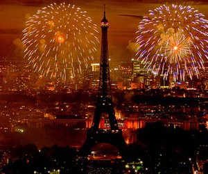 paris, fireworks, and photography image