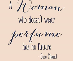coco chanel, perfume, and quote image