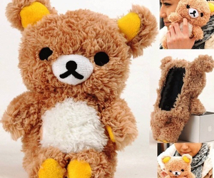 cute, case, and teddy bear image