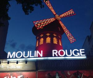cabaret, france, and moulin rouge image