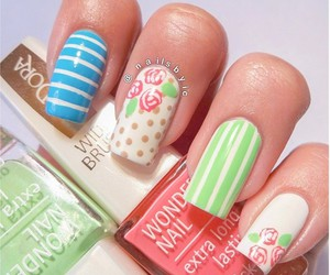 cool, nails, and pretty image