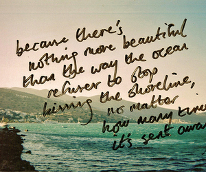 quote, ocean, and sea image