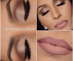 beauty, makeup, and love image