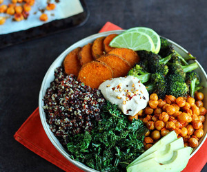 fitness, vegan, and clean eating image