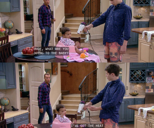 funny, ryder, and melissa and joey image