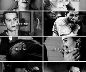 teen wolf, stydia, and dylan o'brien image