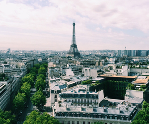 city, paris, and cosy image
