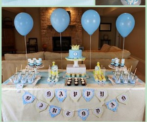 baby, little prince, and baby shower image