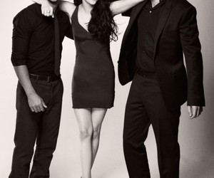 kristen stewart, Taylor Lautner, and robert pattinson image