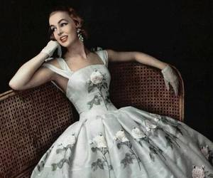 vintage, dress, and style image