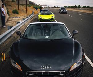 audi, cars, and Lamborghini image