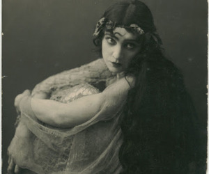vintage and woman image