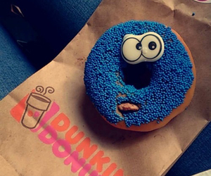 donuts and monster image