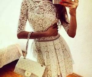 dress, girly fashion, and girls image