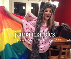 youtube, jenna marbles, and just girly things image