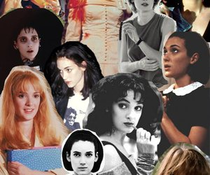 winona ryder and Collage image
