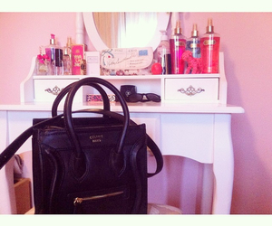 celine, chanel, and pink image