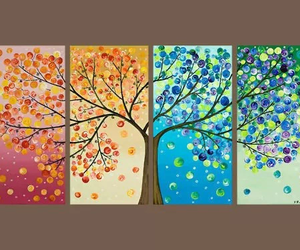tree, art, and season image