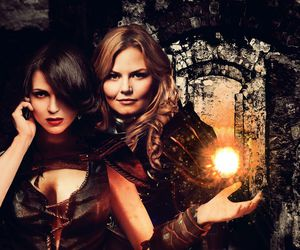 once upon a time, tv series, and evil queen image