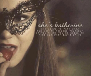 tvd, katherine pierce, and the vampire diaries image