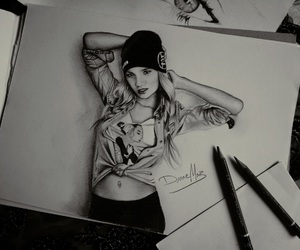 abs, art, and black image