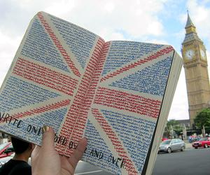 london, book, and Big Ben image