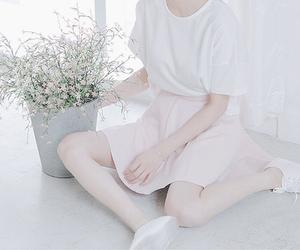 kfashion, pink, and asian image