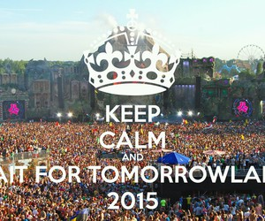 party, Tomorrowland, and 2015 image
