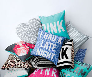 pillow and pink image