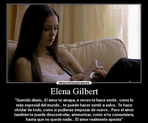 the vampire diares, amor es, and frases image