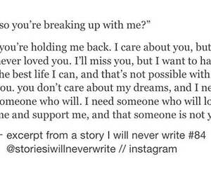 back, breakup, and care image